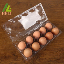 10 Eggs PVC Plastic Blister Tray