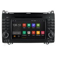 Android 5.1 / 1.6 GHz Lecteur DVD portable Car DVD GPS pour Mercedes Benz a / B 2012 Avant avec connexion WiFi Hualingan