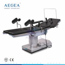 Precio quirúrgico hidráulico eléctrico de la mesa de operaciones del hospital médico AG-OT007