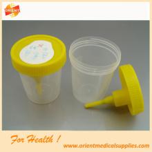 Recipiente da urina do vácuo do hospital do laboratório