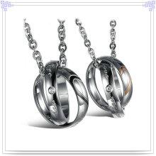 Colgante de moda de acero inoxidable collar de la joyería (nk130)