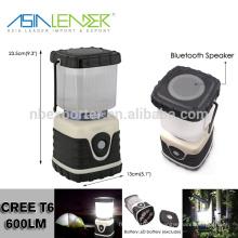 Con el altavoz de Bluetooth, buena fuente de alimentación de la batería de la linterna que acampa, los surtidores de la linterna que acampan del LED, la mejor linterna que acampa llevó