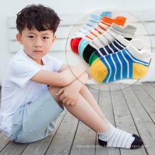 Japan popular teen boys tube cartoon socks colorful striped design children socks kids