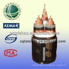 Heißer Verkaufs-MV-Energien-Kabel 10kV XLPE isolierte STA gepanzerte 3 * 300mm2