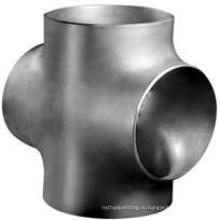 Стандарт ASTM a403 с Wp304, Wp304L, Wp316, Wp316L фланцевые фитинги крест