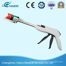 Disposable Curved Cutter Stapler for Laparoscopic Holecystectomy
