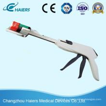 Одноразовый криволинейный степлер для лапароскопической холецистэктомии