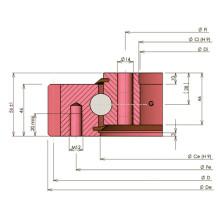 Rollix Light Тип Четырехопорные шарикоподшипники 31 0841 01