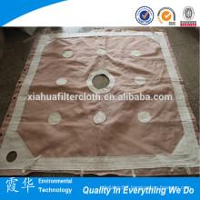 Polypropylene woven fabric for filter press cloth