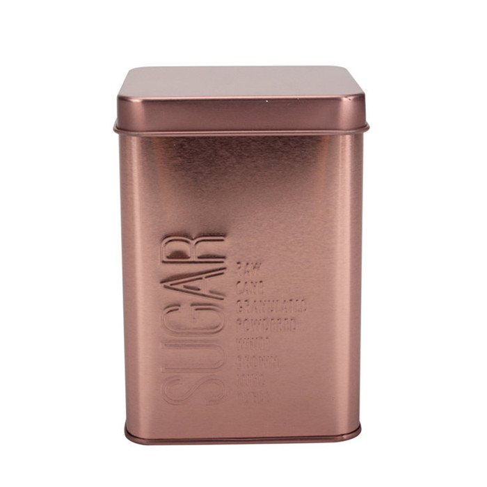 Rose Gold Sugar Canister