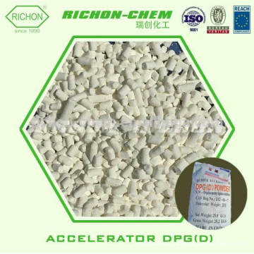 Preço de fábrica para matérias-primas químicas de borracha 1,3-DIPHENYLGUANIDINE Acelerador D Rubber Accelerator DPG