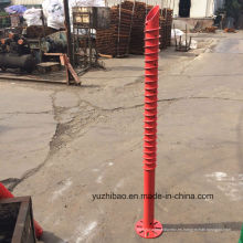 China Tornillo de tierra, China Tornillo de tierra del fabricante, HDG Ground Helical Pole Anchor