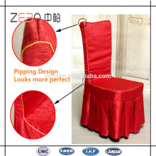 100% Polyester Linens Factory Directly Sale Cheap Party Chair Covers