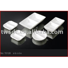 T0126 porcelain soy, sauce, oil dish / ceramic soy tray