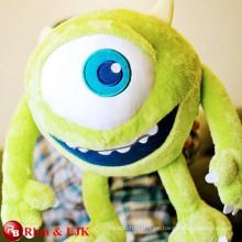 Grüne Monster große Augen weichen Spielzeug
