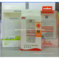 Boîtes d'impression se pliantes d'emballage en plastique faites sur commande (PVC 009)