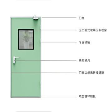 cleanroom hospital hpl door for pharmaceutical