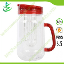 16oz Custom BPA-Free Plastic Water Tumbler with Infuser (IB-A5)