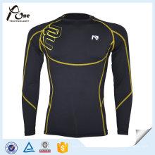 Gedruckte Kompression Unterwäsche Sport Männer Kompression Jersey