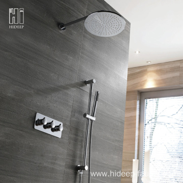 HIDEEP Two Function Brass Hidden Shower Faucet