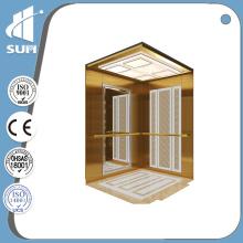 Geschwindigkeit 0.4m / S Luxus Dekoration Kleine Haus Aufzug für Villa