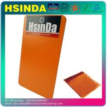 Efeito de enrugamento de laranja Finalizar tinta de pulverização eletrostática Revestimento em pó de textura de resina de poliéster