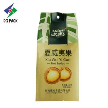 DQ PACK Flexible Verpackung China Suppliers Lap Seal mit Zwickelbeutel für Snacks