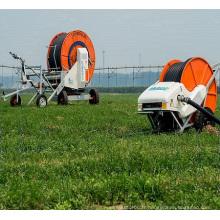 Système d'irrigation à enrouleur de tuyau à deux roues