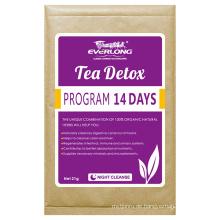 Organic Herbal Detox Tee Abnehmen Tee Gewichtsverlust Tee (Nacht reinigen)
