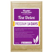 Chá de desintoxicação erval orgânico chá de emagrecimento Chá de perda de peso (noite cleanse)