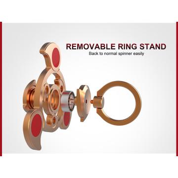 2017 Neueste Style Air Rotating Fidget Spinner für Messing Relieve Stress