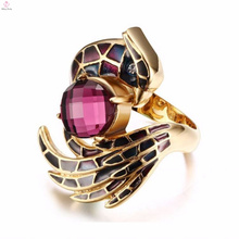 On Sale Wholesale Gold Anniversary Ruby Finger Rings Jewelry