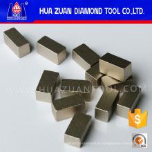 Segmentos de sanduíche de diamante multi-camada para mármore