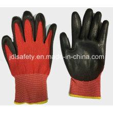 Gant rouge anti-coupe travail avec l'unité centrale (ND8060)