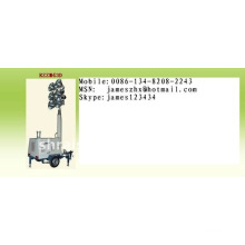 Hydraulic Mobile road light tower RZZM43D