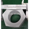 Varilla de tubo de cerámica rectangular de alúmina Al2o3