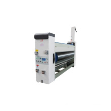 Professional corrugated carton making factory chain feeder type 2 colors printing slotting machine