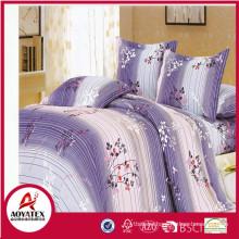 Wholesale polyester bedsheets bedding set , microfiber bedding set manufacturer in China