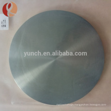 Custom big head thumb screw and high quality flat titanium disc