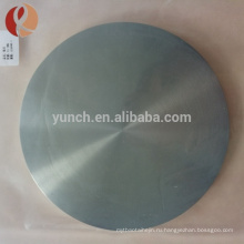 Пользовательские большой головкой винт с накатанной головкой и высокое качество плоский титановый диск
