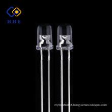 LEDs de Alta Intensidade 395-400nm 5mm UV