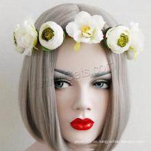 Gets.com Promoción Jefe de la frente de la cabeza Flower Nylon Cord Cane