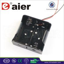 Daier 2 D cell 3v titular de la batería con muelle D titular de la batería