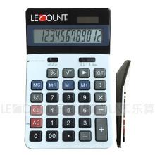 Calculatrice de 12 chiffres de Dual Power Office avec fonction Gt (CA1099)