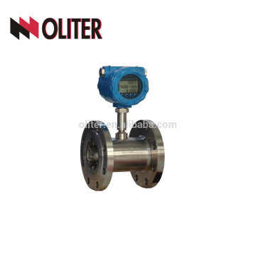 Acier inoxydable 304 haute précision numérique carburant diesel carburant débitmètre turbine