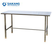 SKH071 Stainless Hospital Working Table With Under Shelf