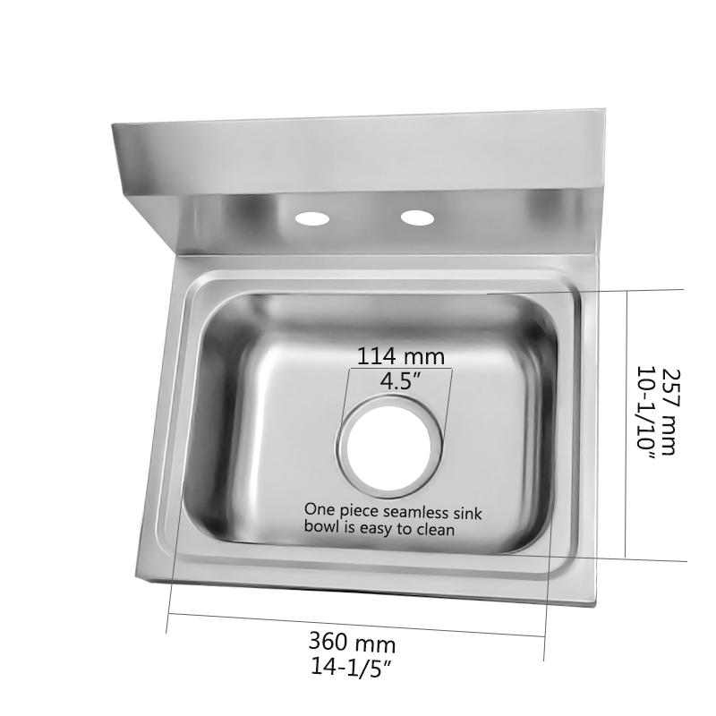 Wall Mount Hand Sink Pwb62 443933 8 Size