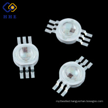 6Pin 3w RGB LED Diode , 3w high power led decorative power RGB led