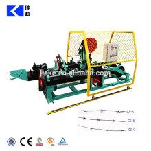 Bester Preis High Speed Double Wire Reverse Verdrehte Stacheldraht Maschine