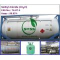 Buen precio Cloruro de metilo ch3cl, El producto Tambor de acero 200L / Tambor, ISO-TANQUE 1000g Acidez (como HCl 0,0006%) 99,5% de pureza